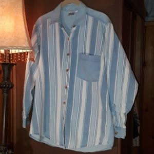 Erika blues button down szM